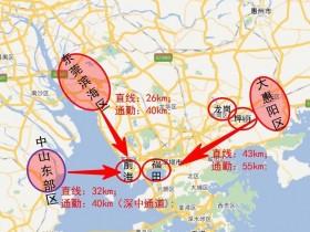 房子买在惠州临深片区自住的?回深圳上班方便吗?