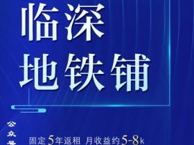 惠阳碧桂园深荟城临街商铺,地铁口