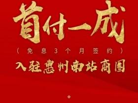 惠州南站旁首付1成带装修的楼盘