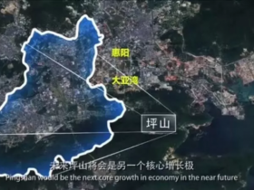 离深圳坪山最近的大亚湾楼盘龙光城,100米