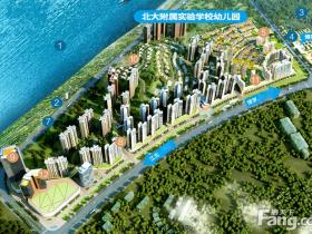 惠州北站有学校配套的大楼盘:中洲半岛城邦