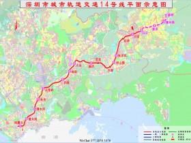 深圳地铁14号线全程50.34公里,全自动化无人驾驶120公里/小时跑完全程33.5分钟?