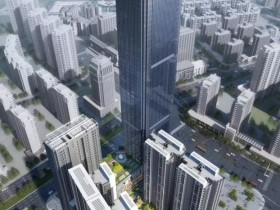 惠阳壹中心写字楼253米高,写字楼商铺价格