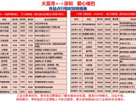惠阳大亚湾到深圳上下班通勤巴士(直接关注微信公众号定票)