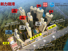 惠阳三和新力珑湾5、6栋备案价、户型效果图