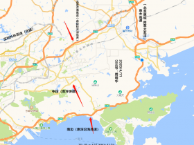深汕高速改扩建工程 惠阳段施工现场(实拍)