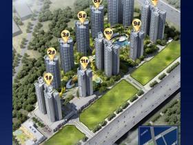 碧桂园深荟城三期备案均价18000元,航拍: