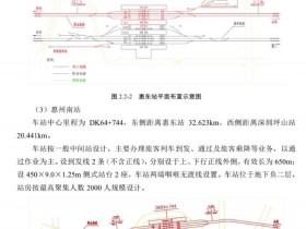 深汕高铁线路图惠州南站站点设计图: